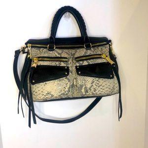 Aimee Kestenberg Snake Print Leather Bag